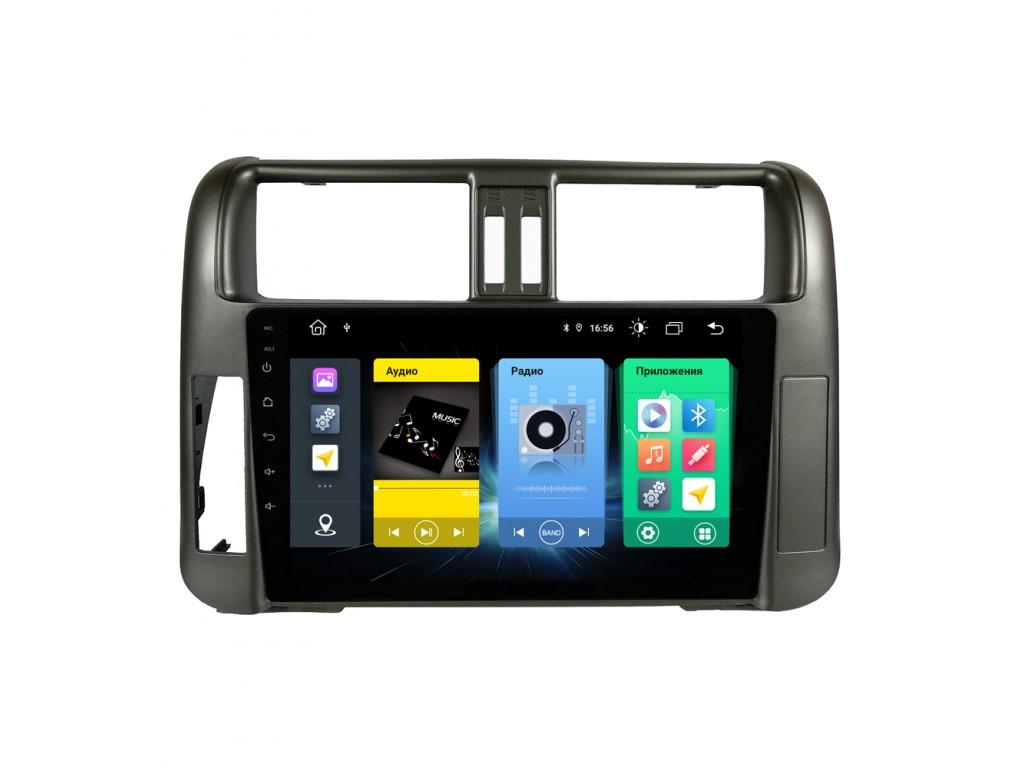 Головное устройство vomi FX360R9-MTK-LTE для Toyota Prado 150 2010-2013 (+ Камера заднего вида в подарок!)