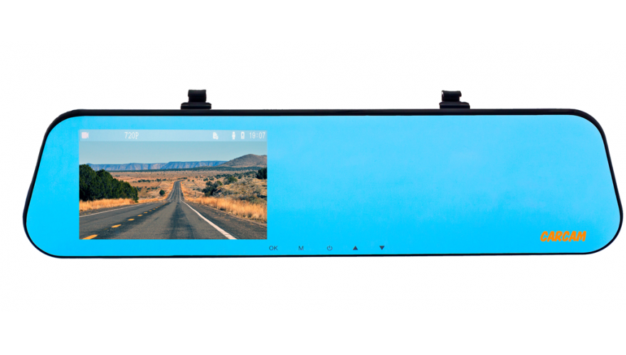 Видеорегистратор-зеркало КАРКАМ Z4 HD (+ Разветвитель в подарок!) видеорегистратор каркам официальный сайт