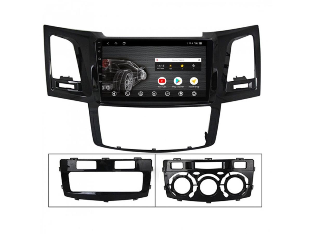 Головное устройство vomi ST2839-T3 для Toyota Hilux 2011-2015 (кондиционер) (+ Камера заднего вида в подарок!)