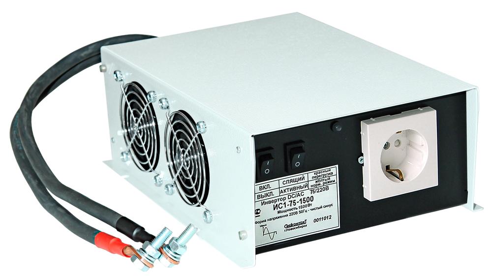 Инвертор ИС1-75-1500 DC-AC, 75В/1500Вт