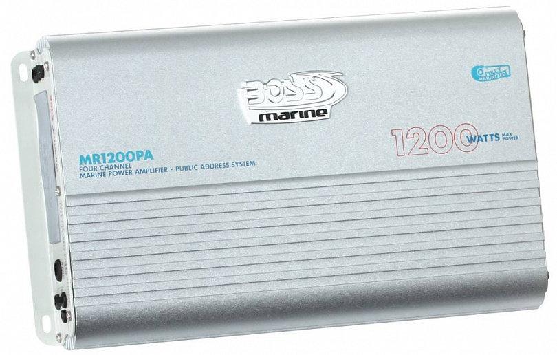 Фото - Влагозащищенный усилитель BOSS Audio Marine MR1200PA (1200 Вт., 4 канала) футболка hugo hugo boss hugo hugo boss hu286emfdms0