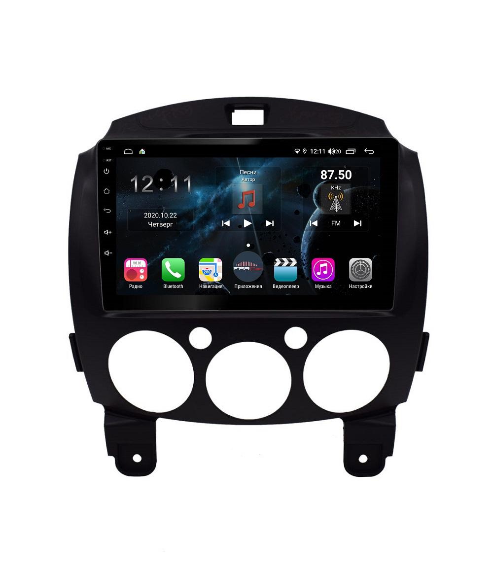 Штатная магнитола FarCar s400 для Mazda 2 на Android (TG1200R) (+ Камера заднего вида в подарок!)