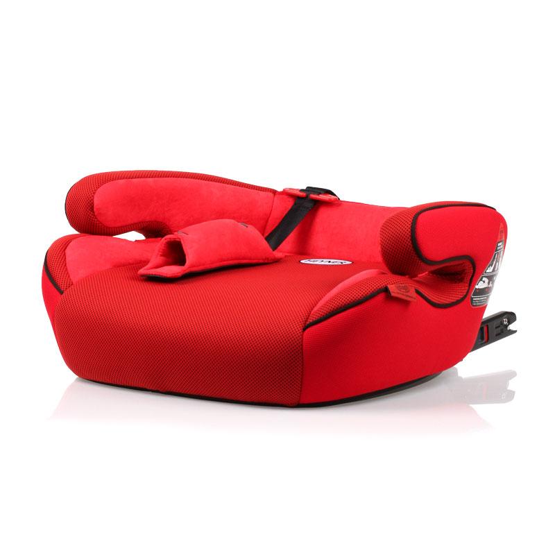 Фото - Автокресло-бустер HEYNER SafeUp FIX XL Красный (+ Солнцезащитные шторки в подарок!) автокресло бустер heyner safeup fix xl черный солнцезащитные шторки в подарок