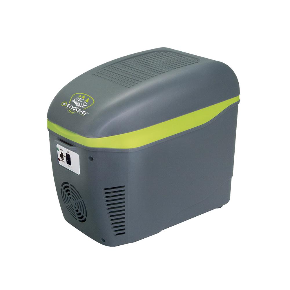 Термоконтейнер с функцией охлаждения и нагрева Endever VOYAGE-001,мощность 52 Вт, объем 7,5 л, питание DC 12 B (серый)