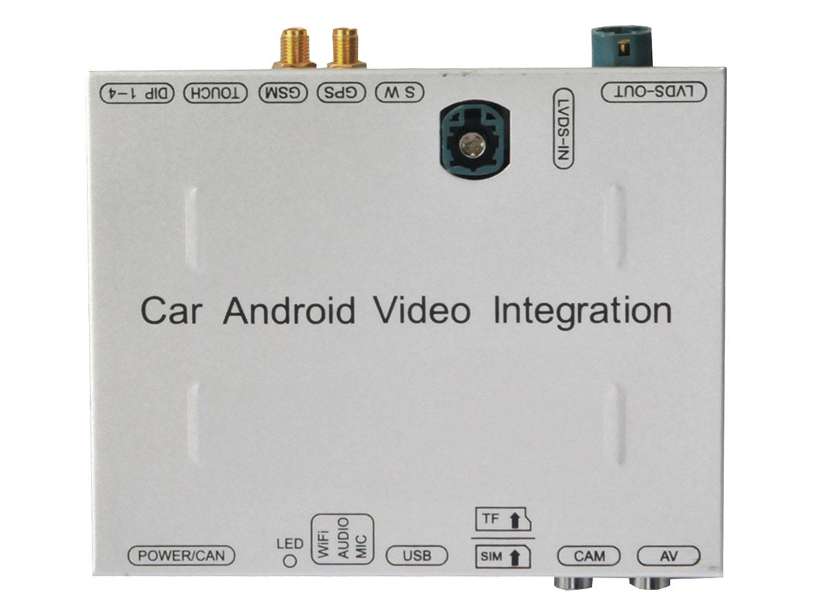 Блок навигации INCAR FEX-PST для оригинального монитора Volkswagen PASSAT (2016+), TIGUAN (2016+) Android (+ Камера заднего вида в подарок!)