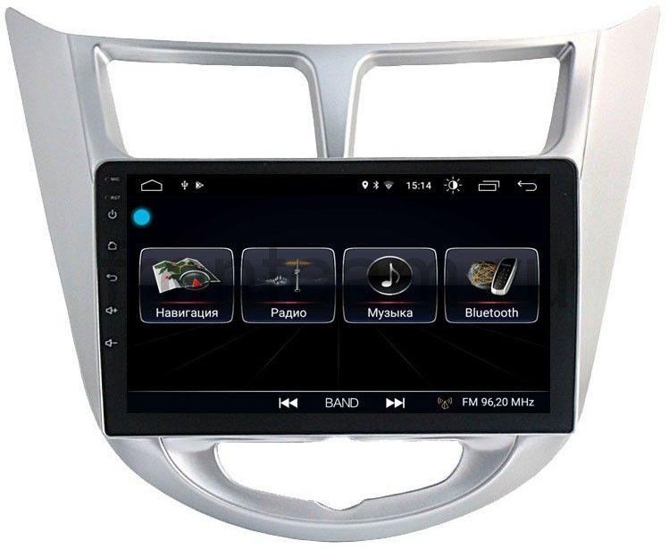 Штатная магнитола LeTrun 1915 для Hyundai Solaris I 2011-2017 на Android 8.0.1 MTK-L 1Gb компьютерные аксессуары oem 5pcs ipad wifi 3g gps