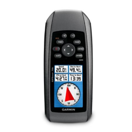 Водный навигатор Garmin GPSMAP 78s Russia + карты России ТОПО (Официальный дилер в Москве) навигатор garmin gpsmap 64st russia 010 01199 23