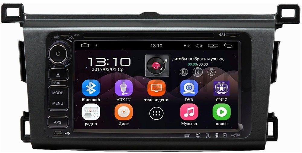 Штатная магнитола Toyota RAV4 (CA40) 2013-2018 LeTrun 1832-RP-TYRV4X-06 на Android 5.1 (+ Камера заднего вида в подарок!)
