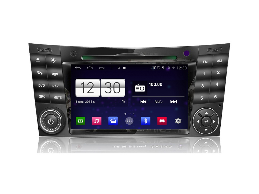 Штатная магнитола FarCar s160 для Mercedes E, CLS на Android (m090) штатная магнитола farcar s160 для audi a4 m050