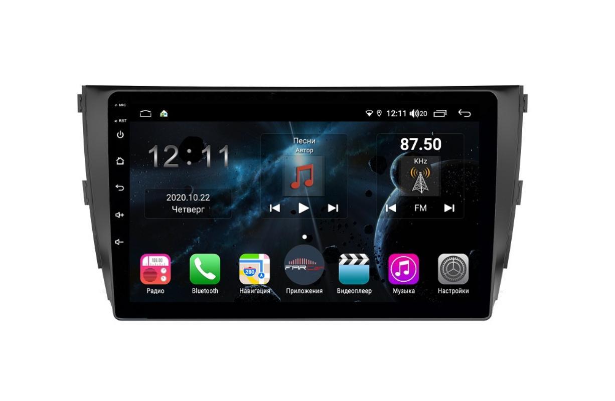 Штатная магнитола FarCar s400 для Zotye на Android (TG1134R) (+ Камера заднего вида в подарок!)