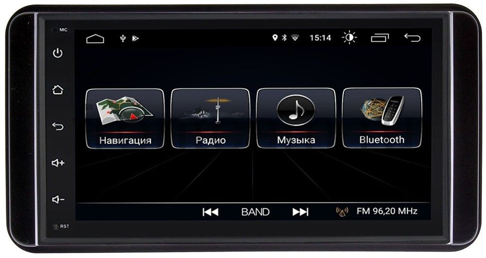 Штатная магнитола LeTrun 2380-RP-TYUNC-43 для Toyota универсальная Android 8.0.1 MTK-L 7060b 7 inch 12v auto 2 din bluetooth tft screen car audio stereo mp3 mp4 mp5 player support aux fm usb sd mmc