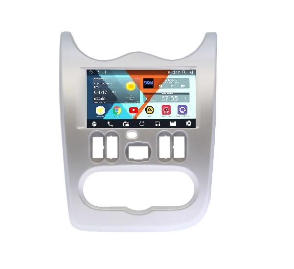 Штатная магнитола Wide Media WM-VS7A706NB-2/16-RP-RNLG-48 для Renault Logan I, Sandero I 2009-2014 Android 7.1.2 (+ Камера заднего вида в подарок!)