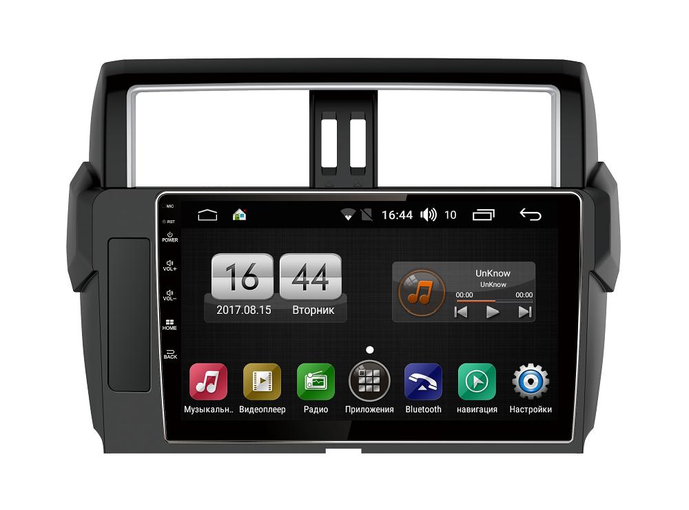 Штатная магнитола FarCar s185 для Toyota Land Cruiser Prado 150 2013+ на Android (LY531R) (+ Камера заднего вида в подарок!)
