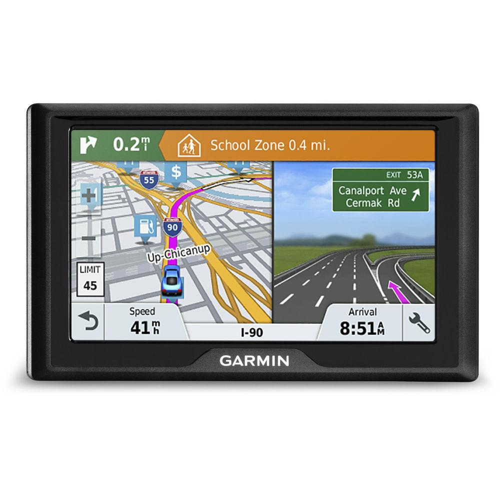Навигатор Garmin DriveSmart 51 LMT-S Европа (+ Карта памяти на 8 ГБ в подарок!)