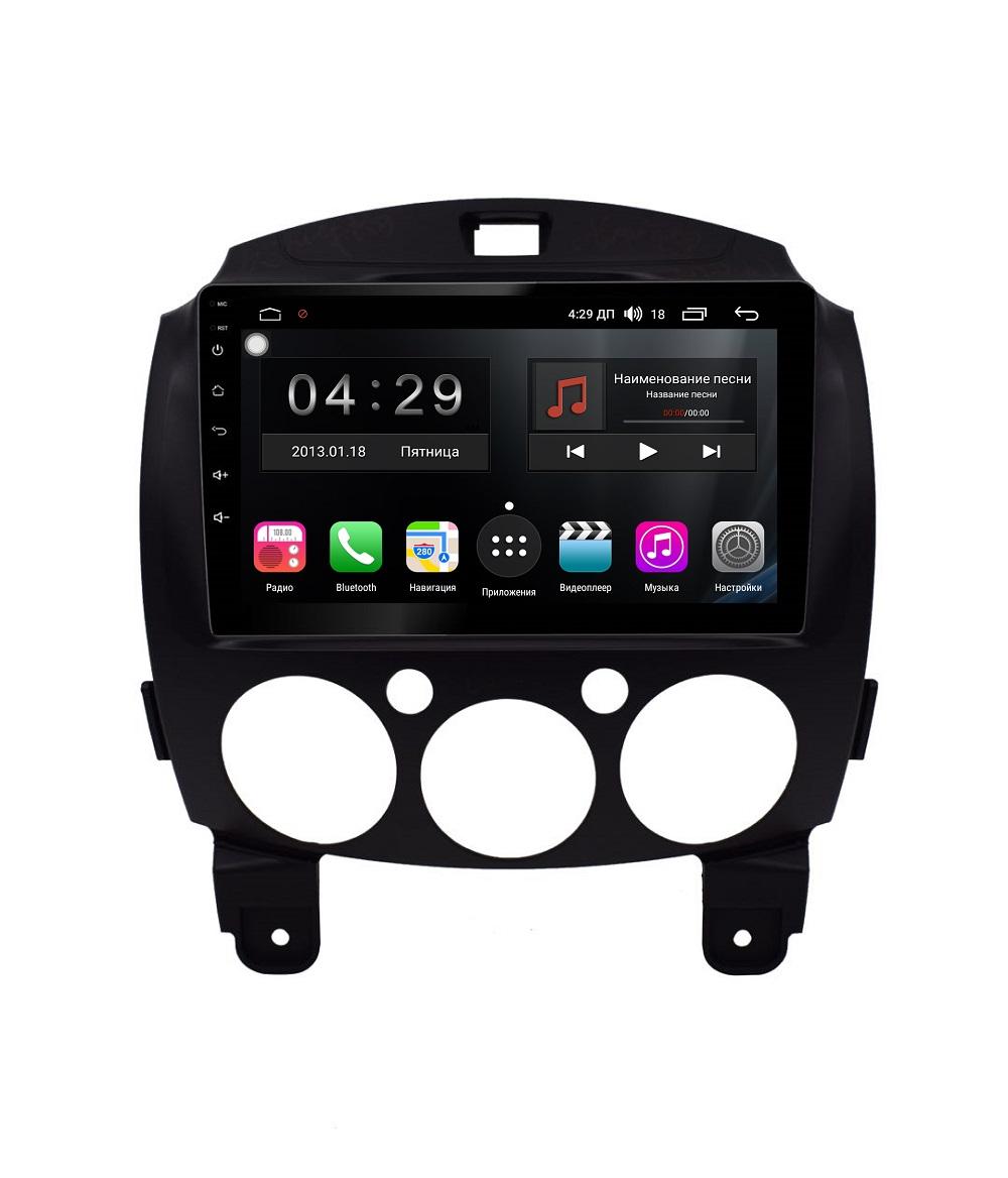 Фото - Штатная магнитола FarCar s300-SIM 4G для Mazda 2 на Android (RG1200R) (+ Камера заднего вида в подарок!) штатная магнитола farcar s300 sim 4g для mercedes r class на android rt215r камера заднего вида в подарок