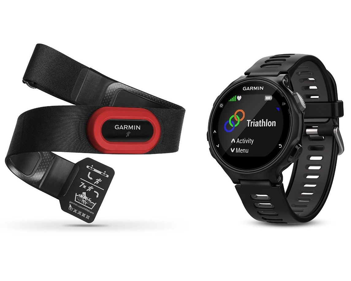 Garmin Forerunner 735XT Черно-серые HRM-Run usb flash drive 64gb silicon power jewel j10 usb 3 0 sp064gbuf3j10v1k