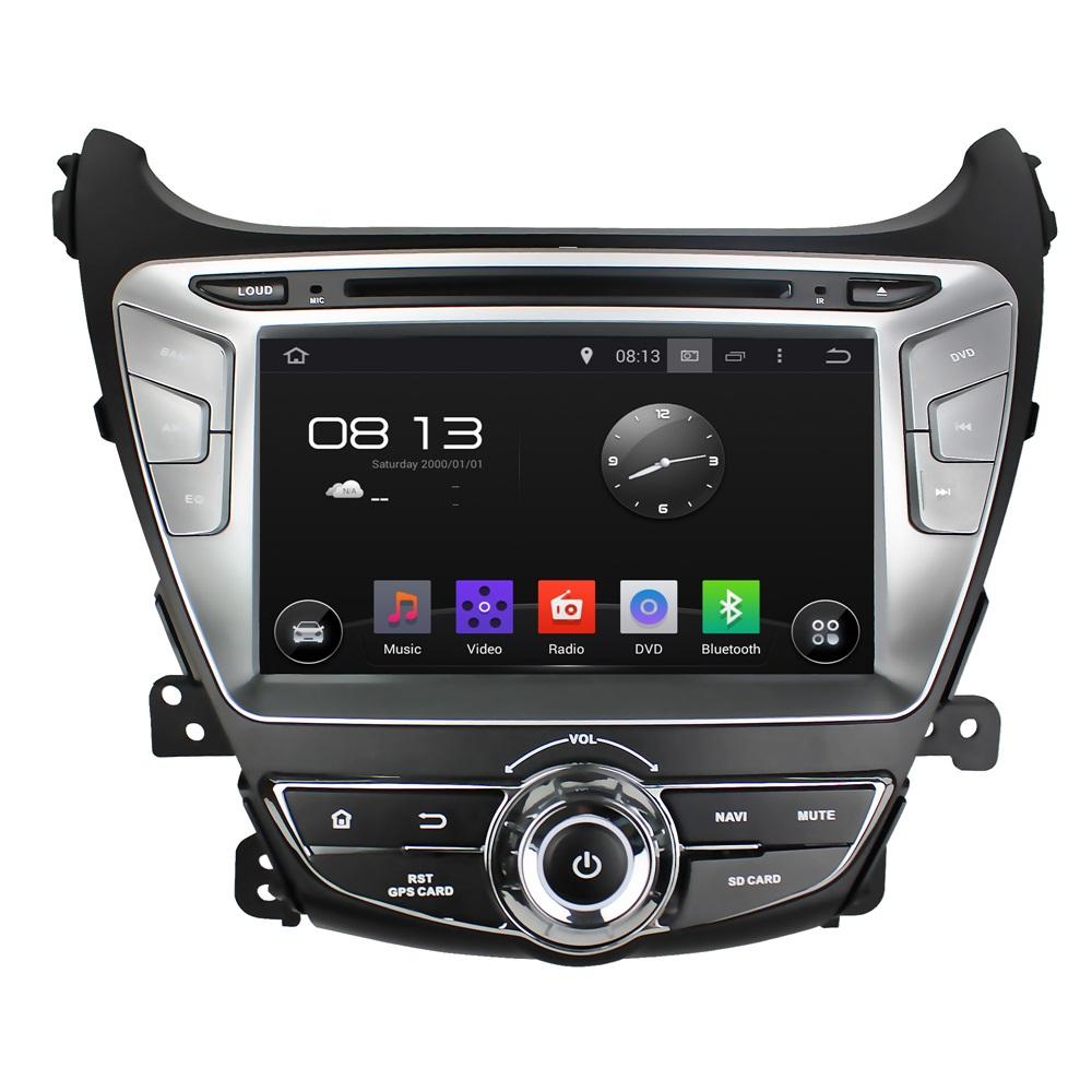 Штатная магнитола CARMEDIA KDO-8054 DVD Hyundai ELANTRA 2013+