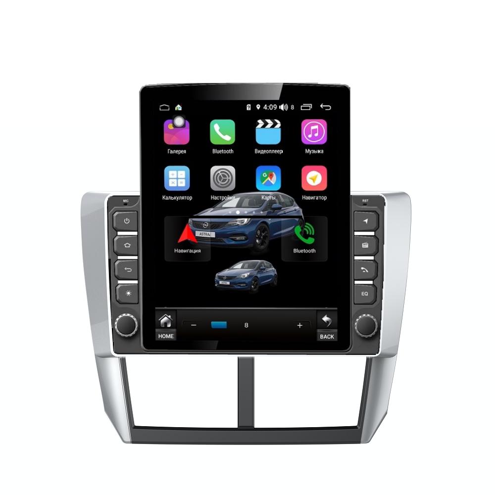 Штатная магнитола FarCar s300+SIM 4G для Subaru Forester,XV 2008-2012 на Android (RT062R) (+ Камера заднего вида в подарок!)
