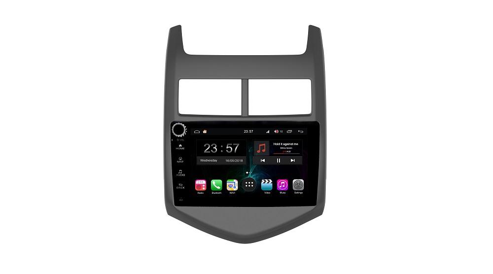 Штатная магнитола FarCar s300-SIM 4G для Chevrolet Aveo на Android (RG107RB) (+ Камера заднего вида в подарок!)