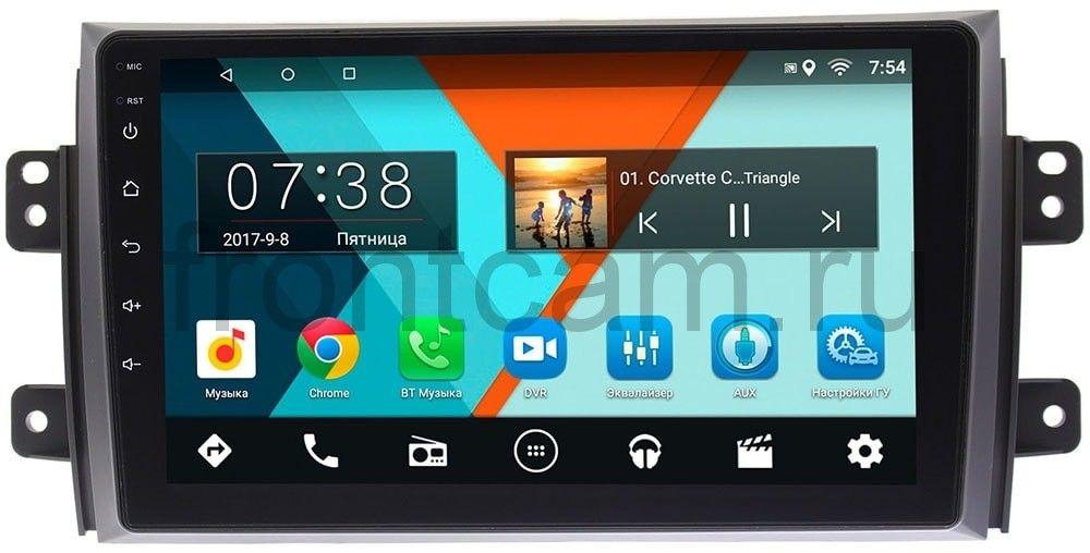 Штатная магнитола Suzuki SX4 I 2006-2014 Wide Media MT9035MF-2/16 на Android 7.1.1 (+ Камера заднего вида в подарок!)