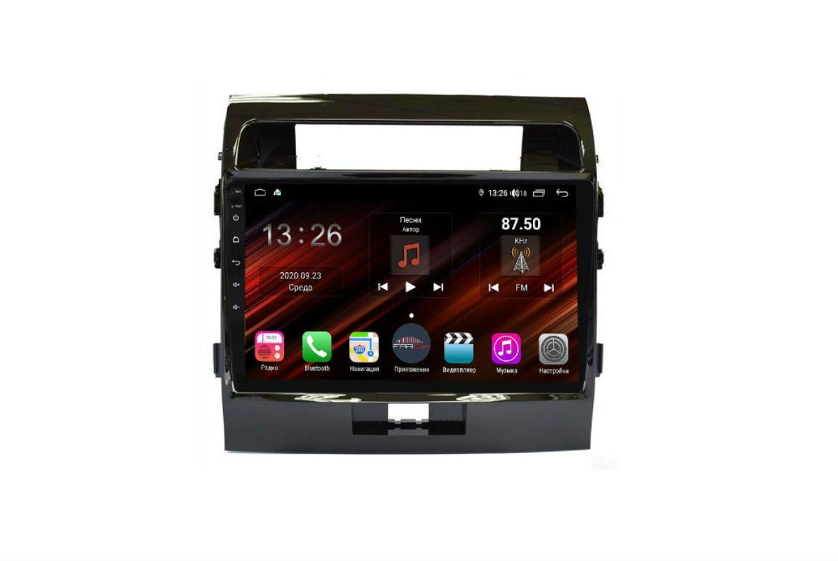 Штатная магнитола FarCar s400 Super HD для Toyota Land Cruiser 200 на Android (XH381R) (+ Камера заднего вида в подарок!)