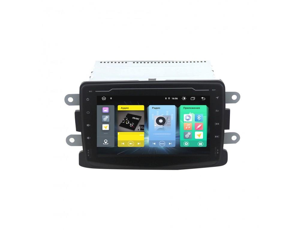 Головное устройство vomi FX104R7-MTK-LTE для Renault Duster, Sandero/Logan 14+, Kaptur, Lada Xray, Nissan Terrano 17+ (+ Камера заднего вида в подарок!)