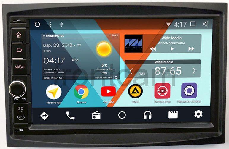 Штатная магнитола Wide Media WM-VS7A706NB-1/16-RP-PG307-64 для Peugeot 3008 I, 5008 I, Partner Tepee II, Boxer II, 207 I, 307 I, Expert II 2007-2016 Android 7.1.2Wide Media<br>Wide Media WM-VS — платформа на совершенно новом Android 7 c вкусным названием Нуга.