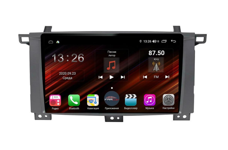 Штатная магнитола FarCar s400 Super HD для Toyota Land Cruiser 105 на Android (XH457/1234R) (+ Камера заднего вида в подарок!)
