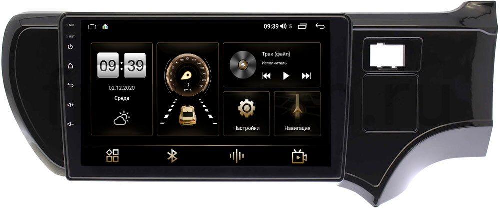 Штатная магнитола LeTrun 4196-9205 для Toyota Aqua 2011-2020 на Android 10 (6/128, DSP, QLed) С оптическим выходом (+ Камера заднего вида в подарок!)