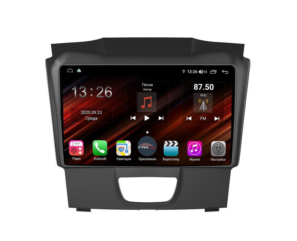 Штатная магнитола FarCar s400 Super HD для Chevrolet Colorado, Trailblazer на Android (XH435R) (+ Камера заднего вида в подарок!)