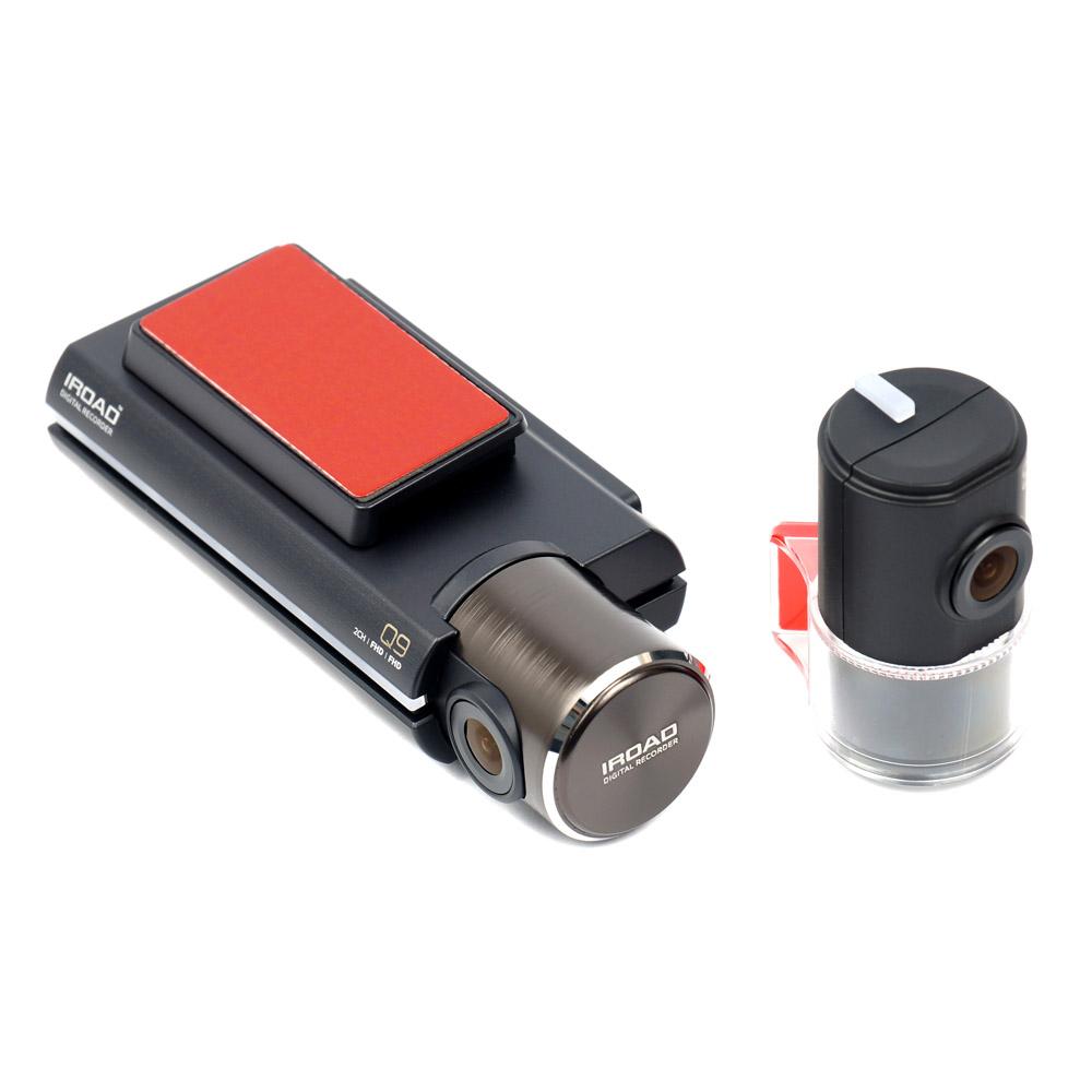Видеорегистратор IROAD Q9 с GPS (+ Карта памяти microSD на 32 ГБ в подарок!) автомобильный видеорегистратор iroad v9