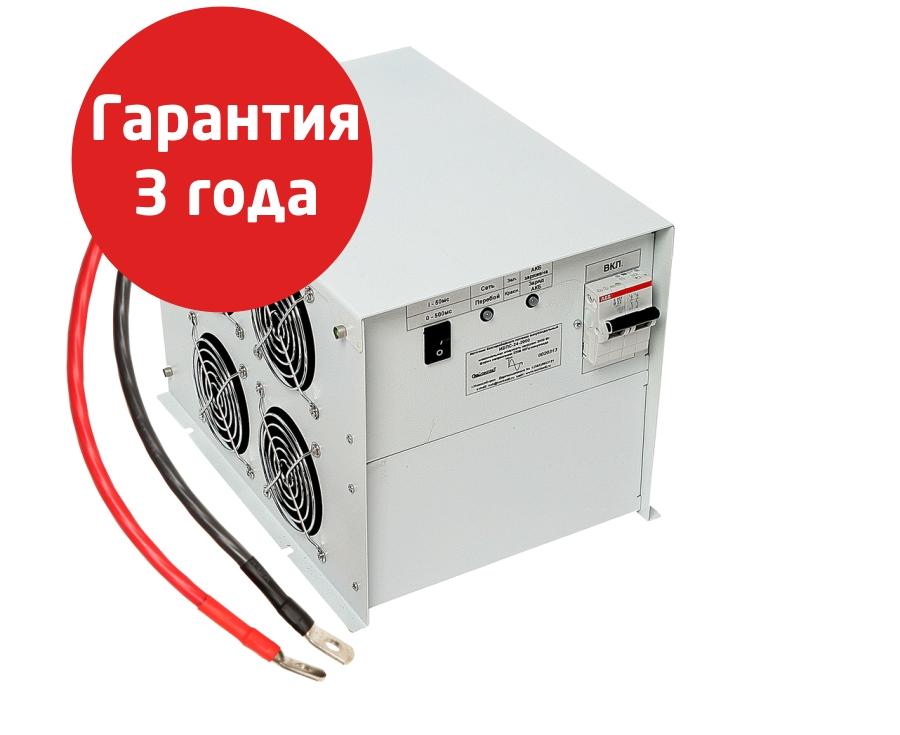 Источник бесперебойного питания 2 кВт ИБПС-24-2000