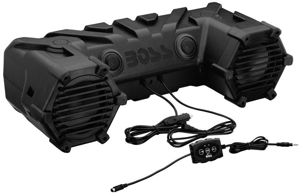 Акустическая система Boss Audio ATV28B (усилитель 450 Вт, 6.5, Bluetooth) акустическая система mystery mj 693