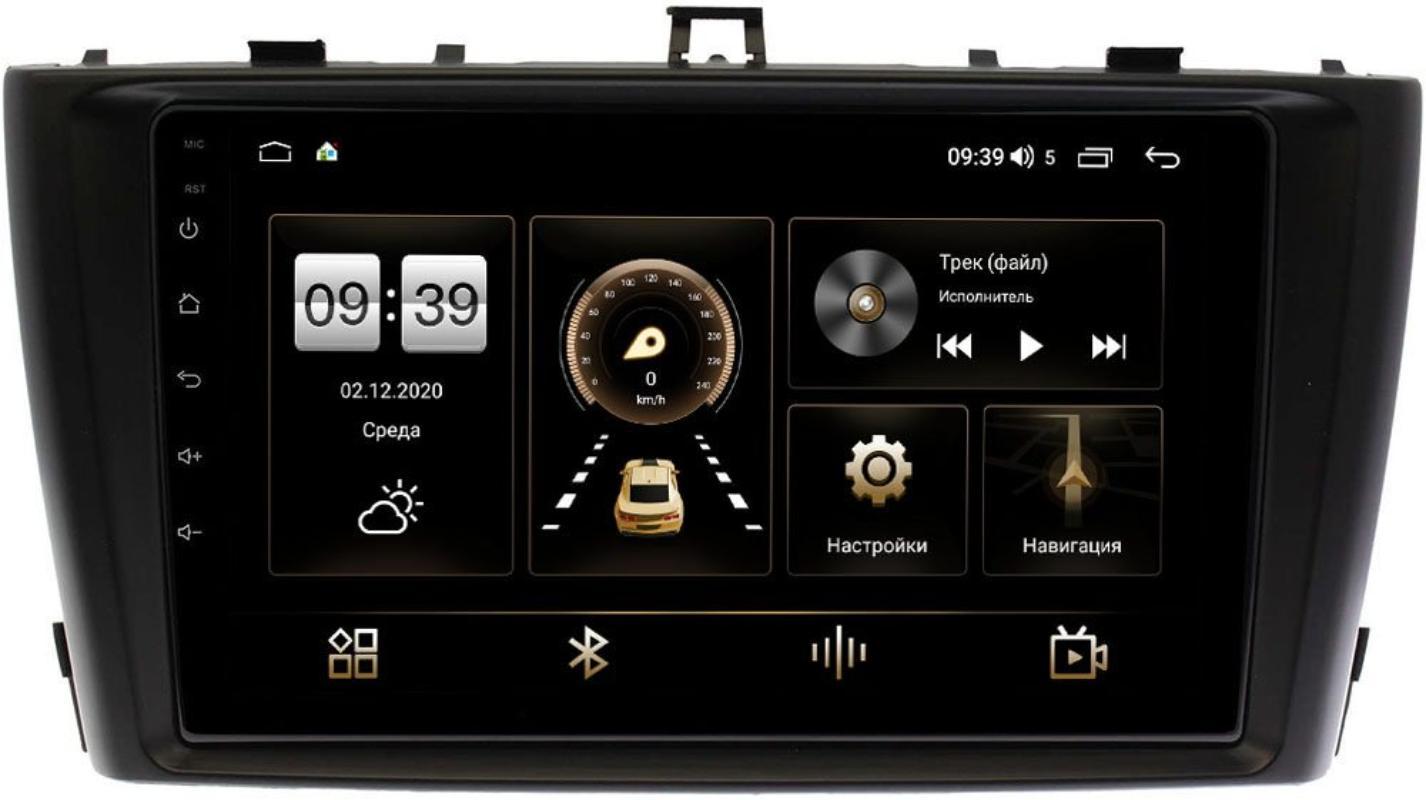 Штатная магнитола Toyota Avensis III 2009-2015 LeTrun 4166-9170 на Android 10 (4G-SIM, 3/32, DSP, QLed) (+ Камера заднего вида в подарок!)