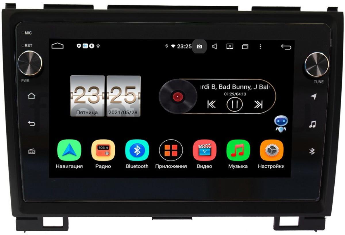 Штатная магнитола Great Wall Hover H3, Hover H5 2010-2018 LeTrun BPX409-9140 на Android 10 (4/32, DSP, IPS, с голосовым ассистентом, с крутилками) (+ Камера заднего вида в подарок!)