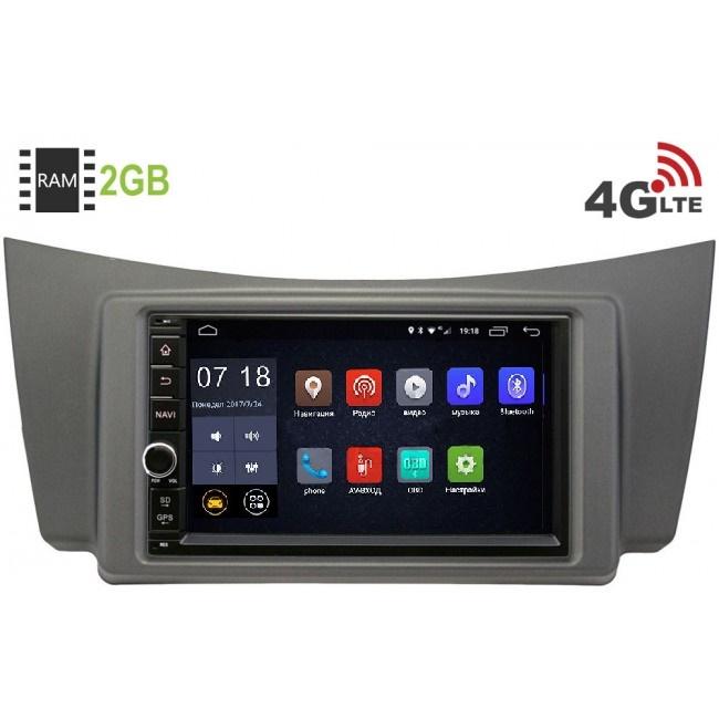 Штатная магнитола LeTrun 1968-RP-LF320-25 для Lifan Smily I (320) 2008-2014 Android 6.0.1 (4G LTE 2GB) (+ Камера заднего вида в подарок!)