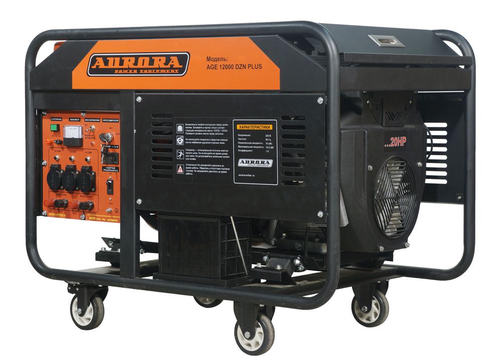 цена на Бензогенератор Aurora AGE 12000 DZN PLUS с блоком автоматики