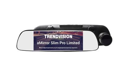 Видеорегистратор TRENDVISION aMirror Slim Pro Limited mathey tissot часы mathey tissot d2111ai коллекция elisa
