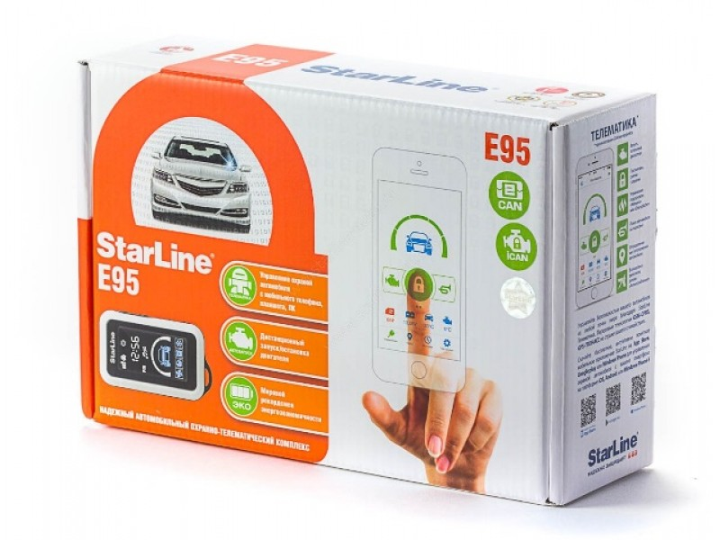 Автосигнализация StarLine E95 2CAN+2LIN вытяжка neff d46pu54x0