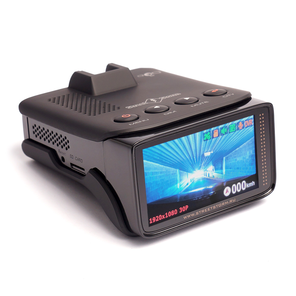 Видеорегистратор с радар-детектором Street Storm STR-9960SE (+ Разветвитель в подарок!) все цены