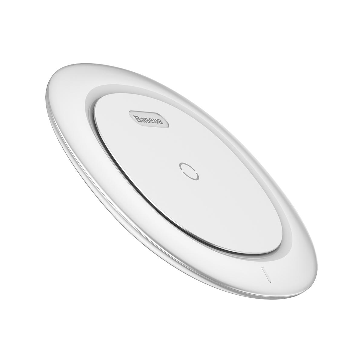 Фото - Беспроводная зарядка для телефона быстрая Baseus UFO Desktop Wireless Charger White беспроводная зарядка ugreen qi wireless fast charger black