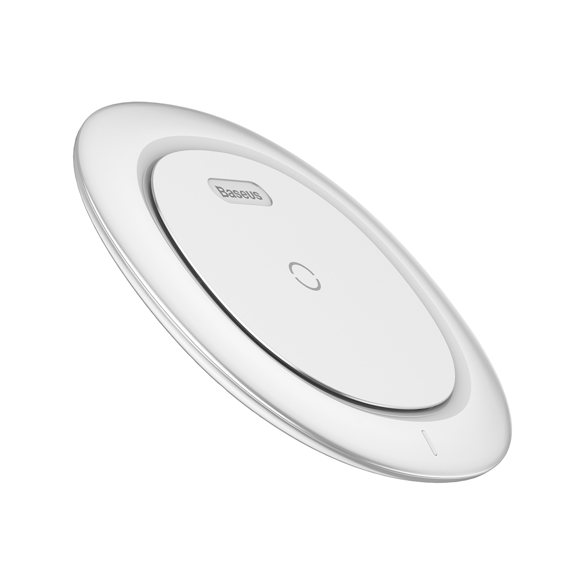 Беспроводная зарядка для телефона быстрая Baseus UFO Desktop Wireless Charger White цена и фото
