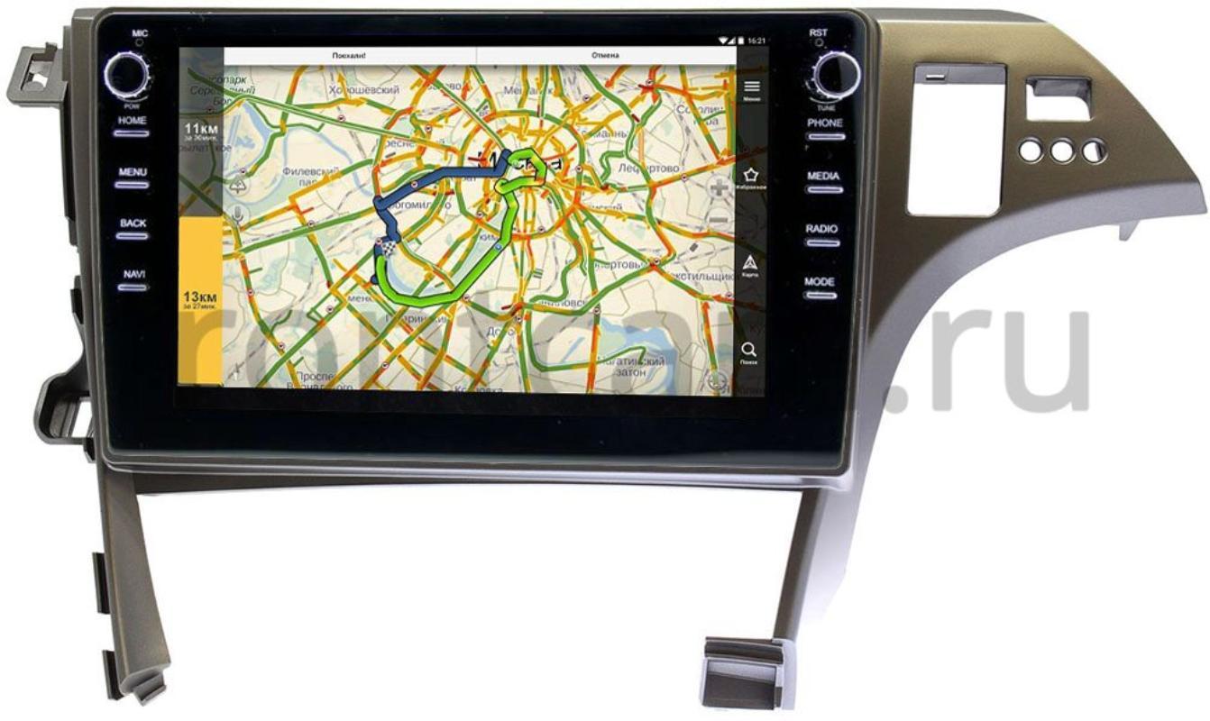 Штатная магнитола LeTrun 3149-10-780 для Toyota Prius III (XW30) 2009-2015 на Android 10 (DSP 2/16 с крутилками) (+ Камера заднего вида в подарок!)