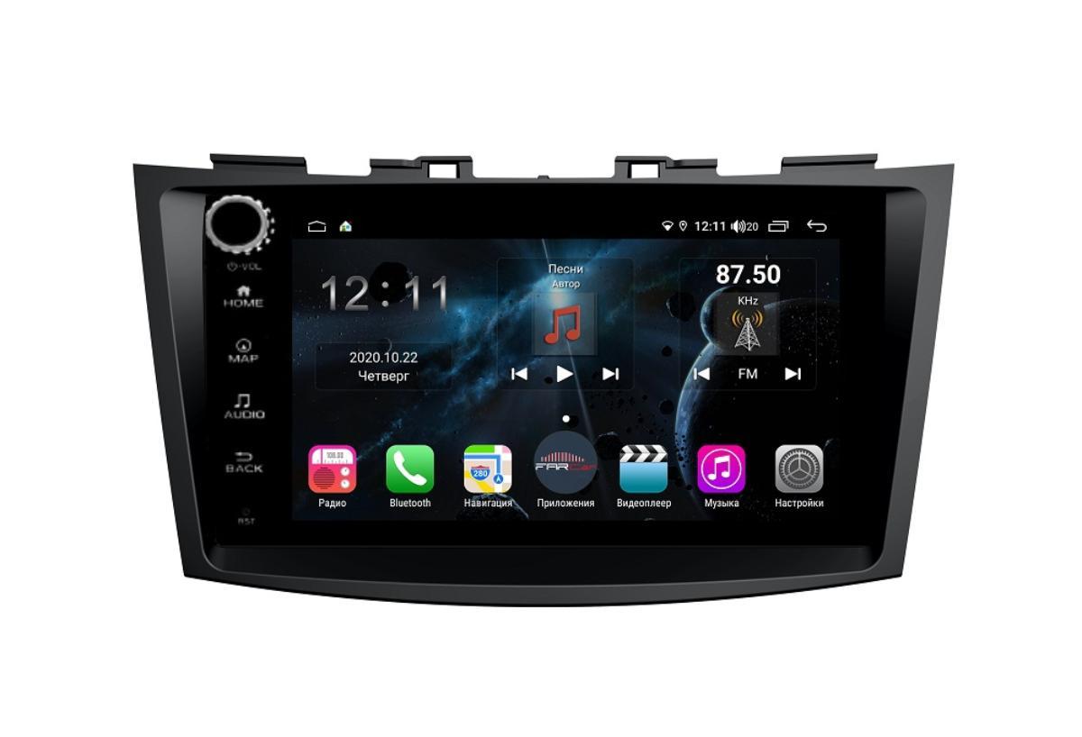 Штатная магнитола FarCar s400 для Suzuki Swift 2011+ на Android (H179RB) (+ Камера заднего вида в подарок!)