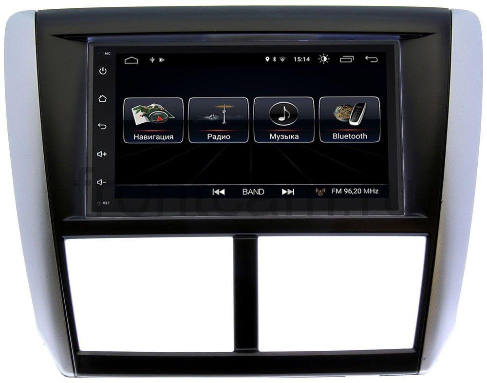 Штатная магнитола LeTrun 2159-RP-SBFR-23 для Subaru Forester III (2007-2013), Impreza III (2007-2011) Android 8.0.1 MTK-L (+ Камера заднего вида в подарок!) штатная магнитола incar ahr 2686 subaru forester impreza 2013 xv android