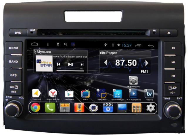 Штатная магнитола DayStar DS-7073HD Honda CRV 2012+ Android 6