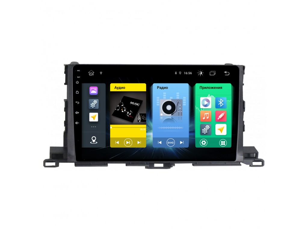 Головное устройство vomi FX389R10-MTK-LTE для Toyota Highlander 2014+ (+ Камера заднего вида в подарок!)