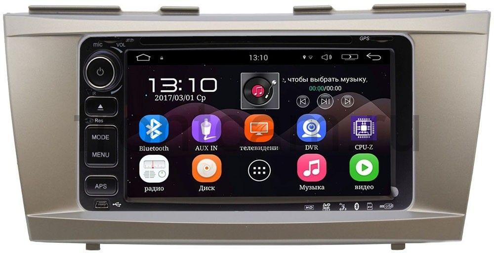 Штатная магнитола Toyota Camry V40 2006-2011 LeTrun 2494-RP-TYCA40W-38 на Android 6.0 (+ Камера заднего вида в подарок!)