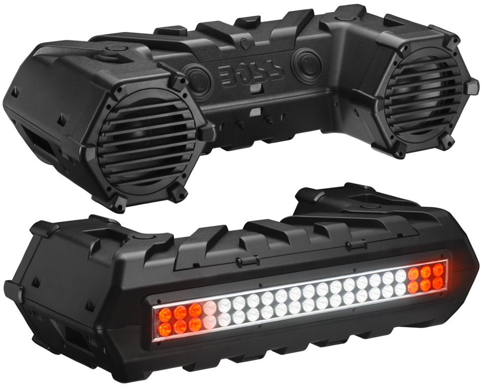 Аудиосистема для квадроцикла BOSS AUDIO ATVB95LED (700 ВТ, 8, Bluetooth, LED)