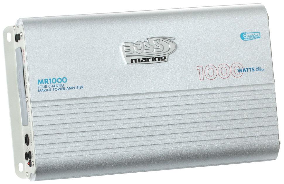 Фото - Усилитель влагозащищённый Boss Audio Marine MR1000 (1000 Вт., 4 канала) парфюмерная вода hugo boss ma vie florale 50 мл женская